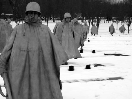 The Korean War Memorial in Washington, D.C. This summer marks the 60th anniversary of the end of the war, which Father Kapuan did not live to see. Photo: aculty.smu.org
