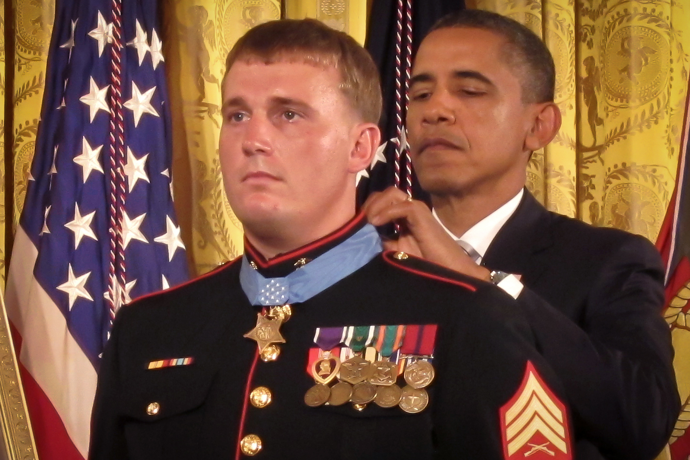 medal of honor receiver