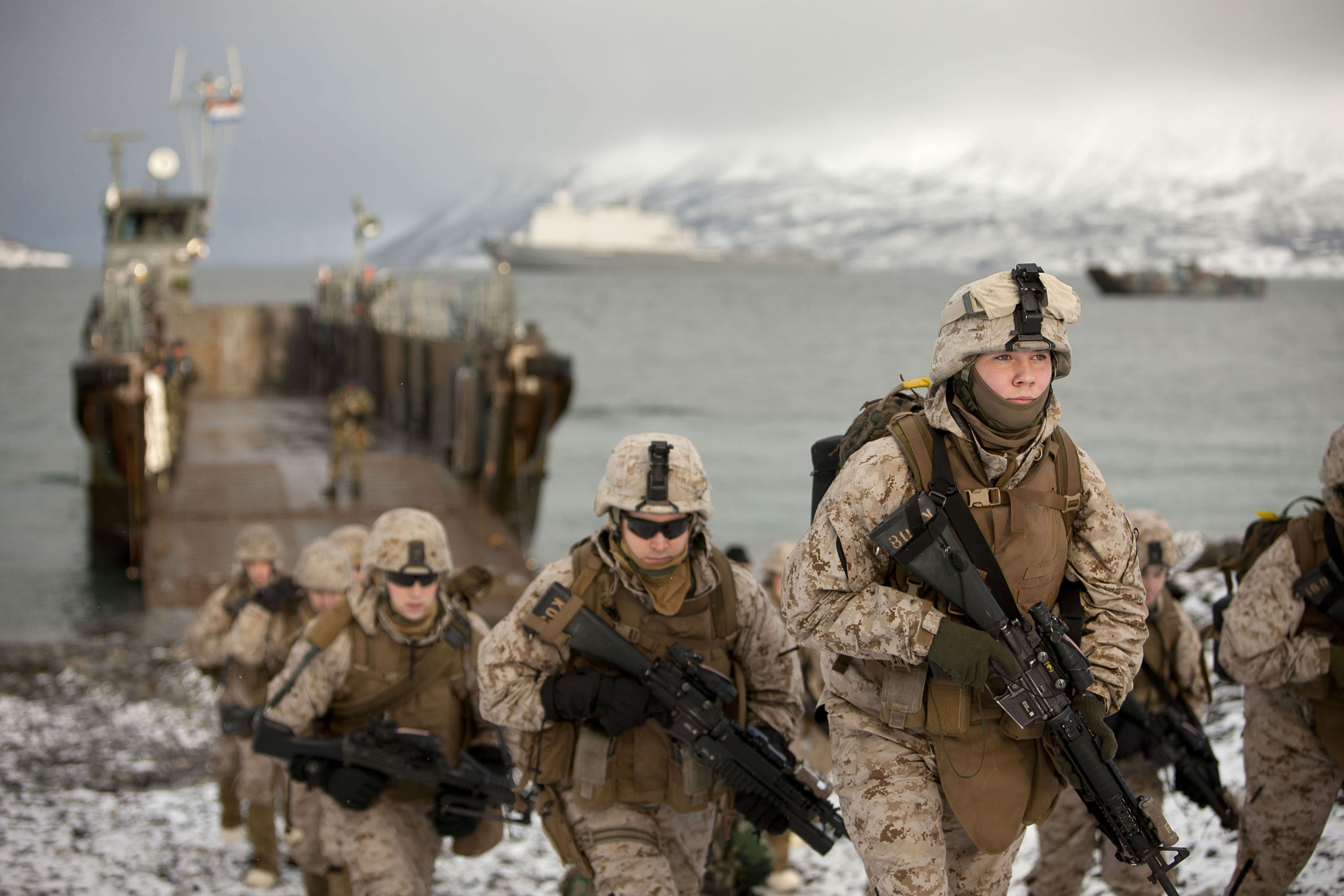 Image result for us marines in norway