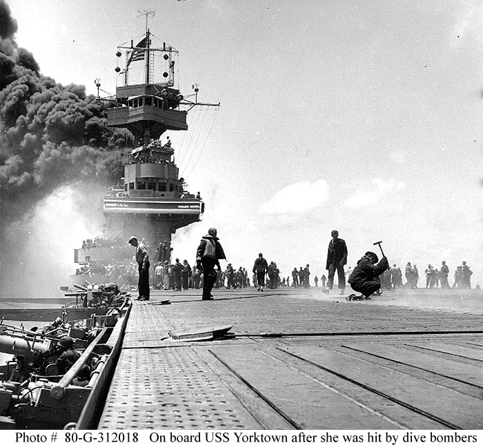 Technology battle of midway rise of the aircraft carrier for Porte 7th sea