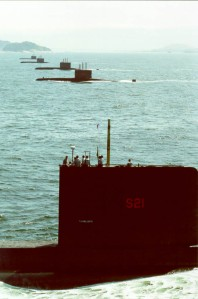 Brazilian submarines Brazilian Navy photo via Wikipedia