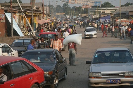 Cities like Kinshasa are only going to become more crowded in future decades.