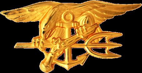 U.S. Navy Special Warfare Trident insignia worn by Navy SEALS. (U.S. Navy file photo)