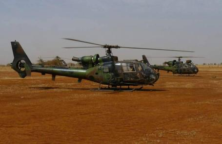 A French helicopter poilot was killed in fighting with Islamist rebels in Mali. (Photo: French defense ministry)