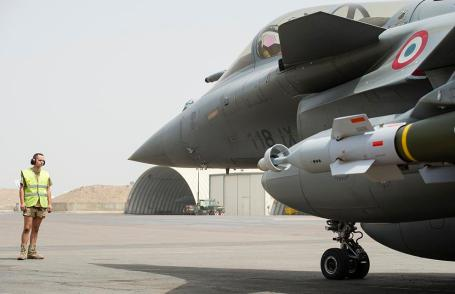 French Rafales jets in Mali.(Copyright French Ministry of Defence)