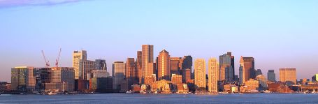Boston skyline (Photo by Y. Sakawa via Wikipedia)