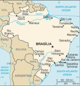 Brazil (CIA World Fact book)