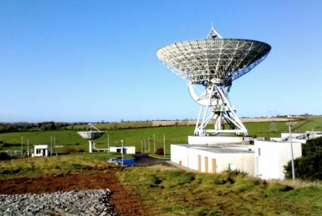 Ireland's National Space Centre, Elfordstown, County Cork, the site C-SIGMA's second day. (Courtesy of the National Space) Centre