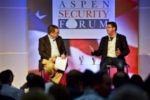Deputy Defense Secretary Ash Carter answers questions at Aspen Security Forum (Defense Dept. photo)