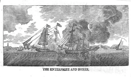 Enterprise Vs. Boxer (via Wikipedia)