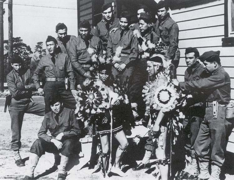 Comanche code talkers of the 4th signal company u s army signal