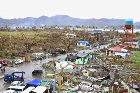 The after effects of Typhoon Haiyan in Tacloban, (U.S. Marine Corps photo by MSgt Antoine Robinson)