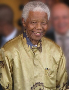 Nelson Mandela in 2008 (Photo courtesy of South Africa The Good News / www.sagoodnews.co.za via Wikipedia)