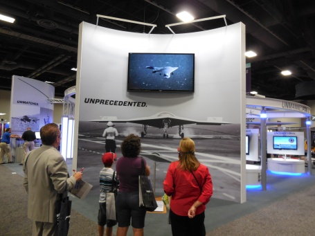 AUVSI Unmanned Vehicles 2013 conference. (4GWAR photo by John M. Doyle)