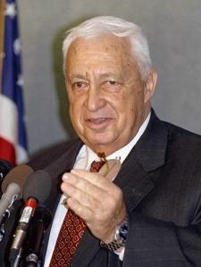 Ariel Sharon in xxxx. (Photo by Jim Wallace, Smithsonian Institution)