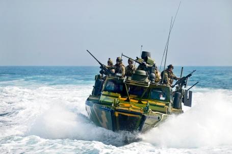 Riverine command boats GUNEX