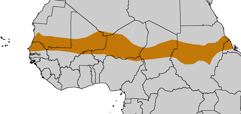 The Sahel Region Map Courtesy Of Xx Xxx