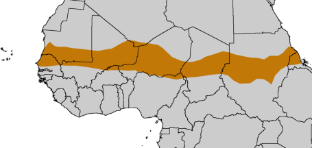 The Sahel Region (Map courtesy of XXXXX XXXXXX)
