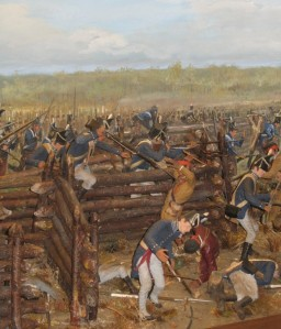 Battle Diorama at Horseshoe Bend National Military Park