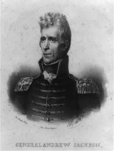 Ma. Gen. Andrew Jackson (Image courtesy National Park Service)