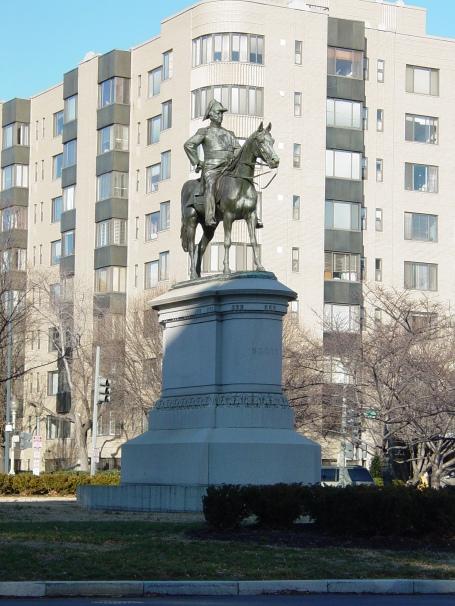 Statue of Gen. Winfield Scott on Scott Circle in Washington, D.C. (photo by Ben Schumin via Wikipedia)