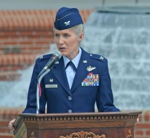 Co. Leavitt speaking in 2012. (U.S. Air Force photo by xxxxx xxxxxxxxx)