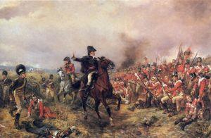 """Wellington at Waterloo"" by Robert Alexander Hillingford via Wikipedia"