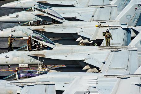 U.S. Navy photo by Seaman Everett Allen