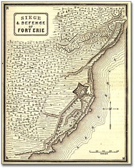 Siege of Fort Erie (via Wikipedia)