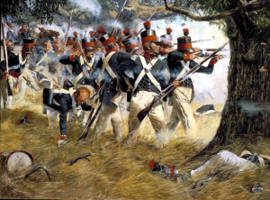 The 5th Maryland Militia Regiment at the Battle of North Point. (National Guard Heritage Series)