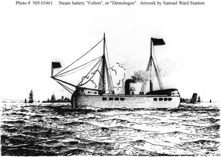 Who Designed The First U S Steam Powered Warship