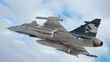 The Gripen NG Jet Fighter (Photo courtesy of Saab)