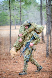 Revision Military's Prowler Human Augmentation System, which distributes a soldier's combat load, is among the technologies USSOCOM is studying for its ballistic protection suit project. (Photo courtesy Revision Military.