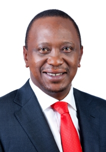 Kenya President Uhuru Kenyatta. (Official photo via Wikipedia)