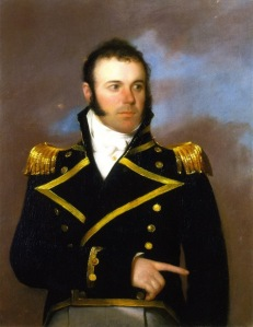 Commodore Daniel Todd Patterson (By John Wesley Jarvis)