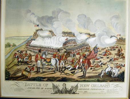 The death of Major Gen. Pakenham.