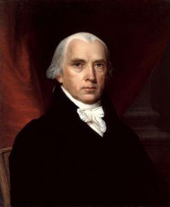 President James Madison (Courtesy, The White House Historical Association)