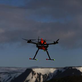 Small UAS in Alaska (Courtesy of University of Alaska-Fairbanks)