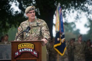 Army Gen. and U.S> SOCOM commander Joseph Votel. (U.S. Army photo by Staff Sgt. Steve Cortez)