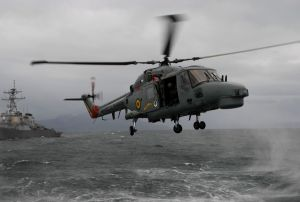 The Brazilian Navy is deploying ships and aircraft in Operation Blue Amazonia. (U.S.Navy photo)