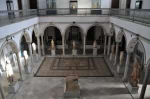 The Bardo National Museum in Tunis, where more than 20 people were killed in a terrorist attack, is famous for its Greek, Roman and Carthaginian artifacts. (Photo by Alexandre Moreau via wikipedia)