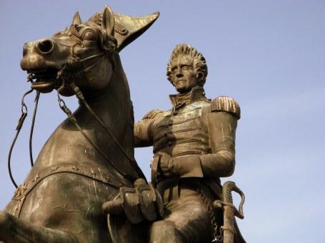 Maj. Gen. Andrew Jackson statue in Washington, DC. (Photo by Debaird via wikipedia)