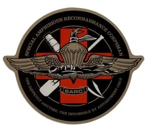 SARC insignia (RekonDog via wikipedia)
