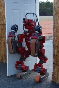 Carnegie Mellon University's CHIMP robot (DARPA photo)