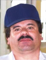 "Joaquin ""El Chapo"" Guzman Loera (Photo from DEA wanted circular)"