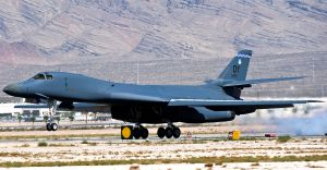 B-1B Lancer bomber (U.S. Air Force photo by Senior Airman Brett Clashman)