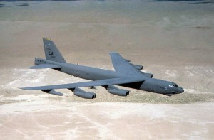 B-52 Stratofortress (U.S. Air Force photo via wikipedia)