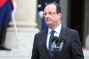 French President Francois Hollande State Chancellery of (Latvia photo via wikipedia)