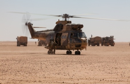 French helicopters in Africa