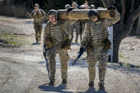 Air Liaison Officers test cadets